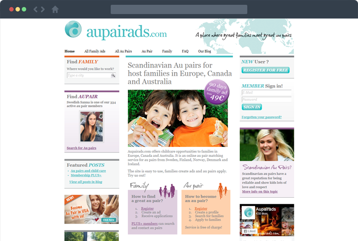 Aupairads featured image